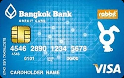 RABBIT BANGKOK BANK CREDIT CARD