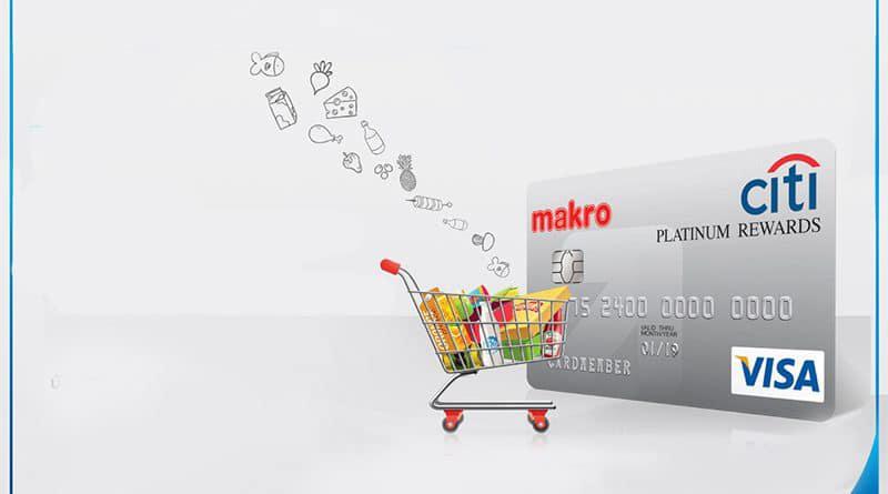บัตรเครดิตซิตี้ แม็คโคร แพลตติ นั่ม รีวอร์ด (Citi Macro)