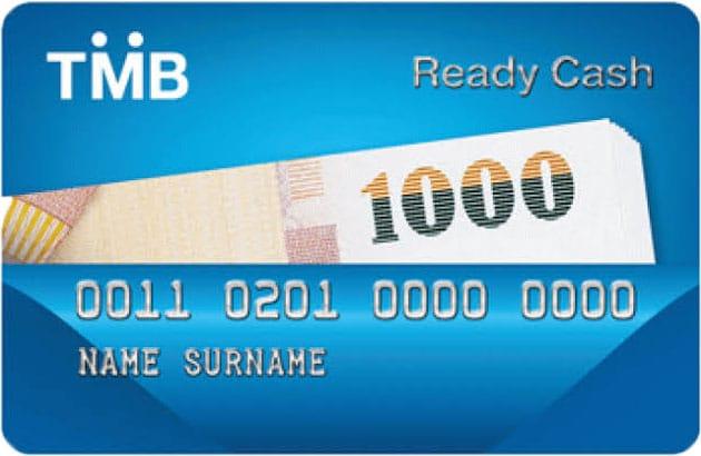 บัตร TMB Ready Cash Card