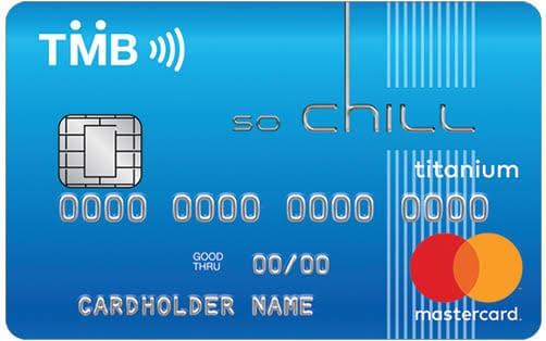 บัตรเครดิต TMB So-Chill Card