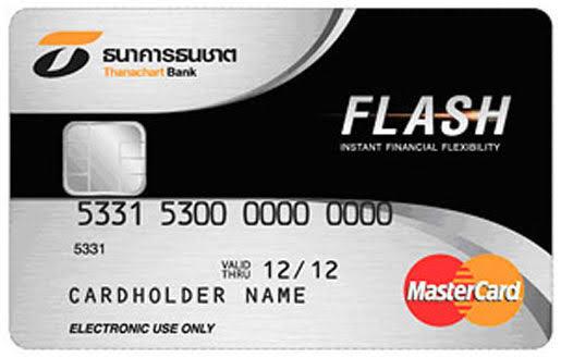 บัตร Thanachart Credit Cards and Flash Plus