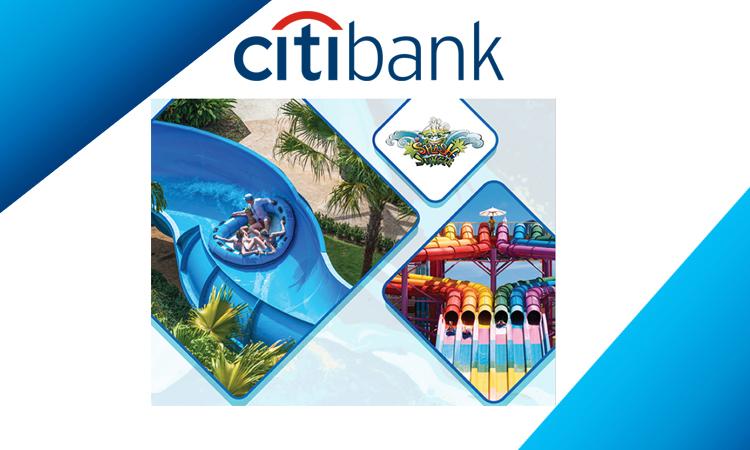 โปรโมชั่นบัตรเรดิต Citibank รับส่วนลดที่ สวนน้ำ สแปลช จังเกิ้ล